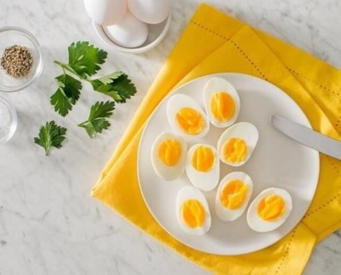 زرده یا سفیده تخم مرغ