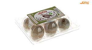 تخم مرغ 6 عددی تخم مرغ تلاونگ