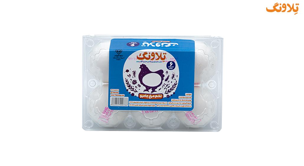 تخم مرغ بسته بندی جامبو تلاونگ